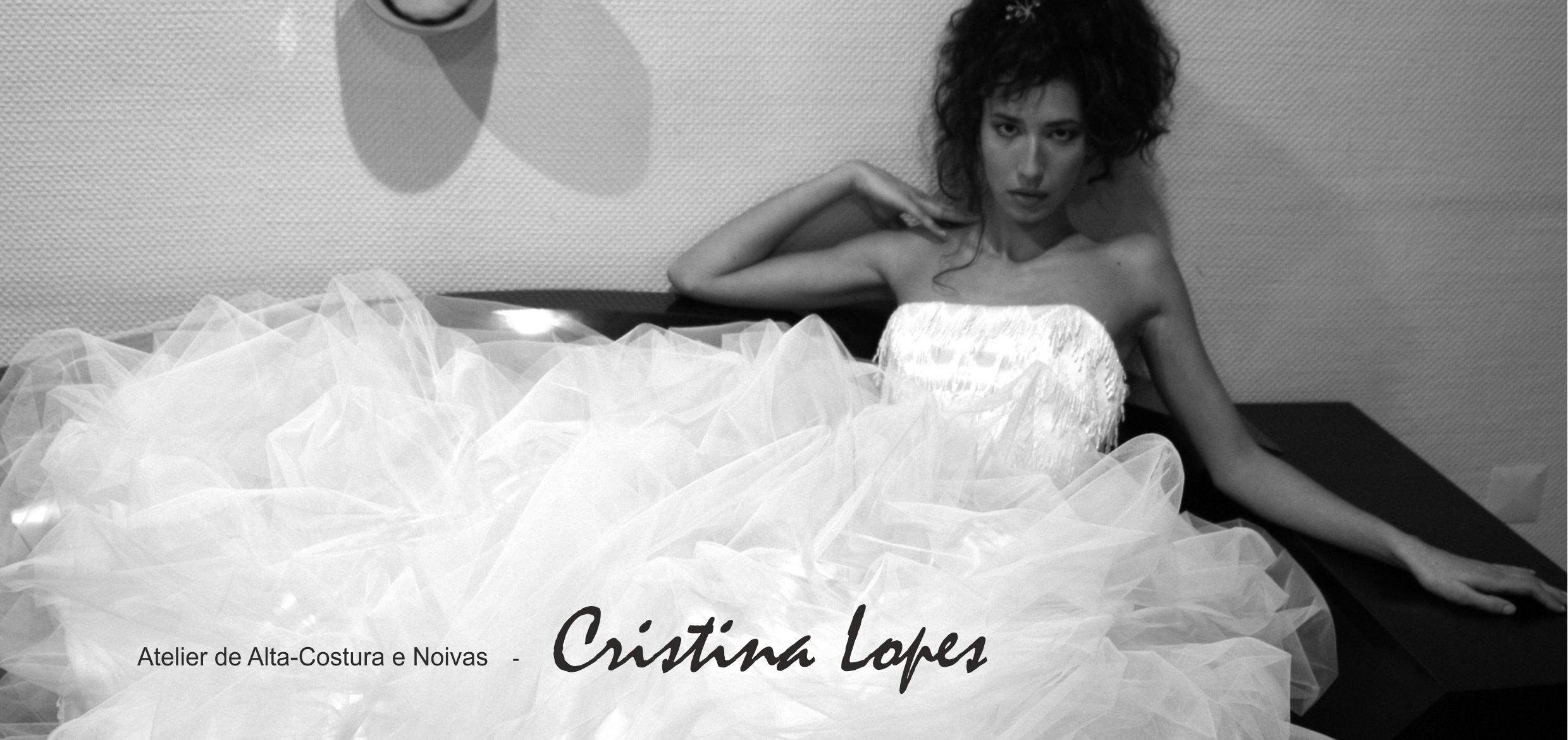 Vestido de noiva Cristina Lopes 2016 - 2017